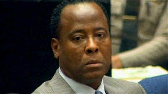 Dr Conrad Murray in court