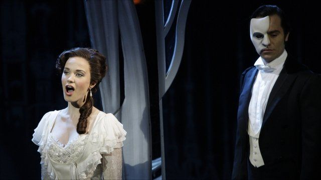 phantom of the opera celebrates 25th anniversary bbc news