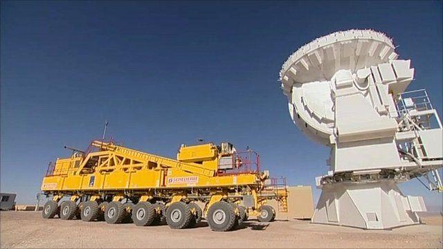 Telescope in Chile's Atacama desert
