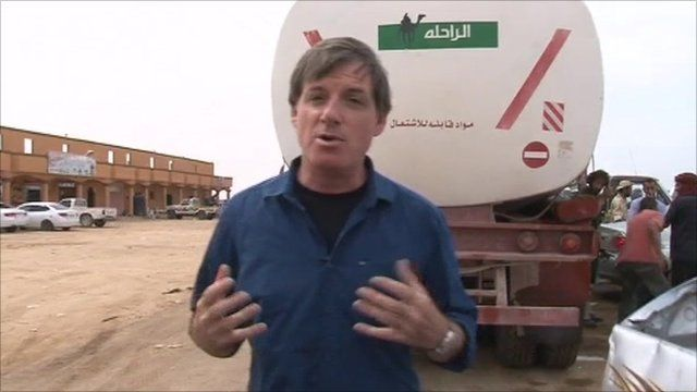Jonathan Head reports from a refuelling station