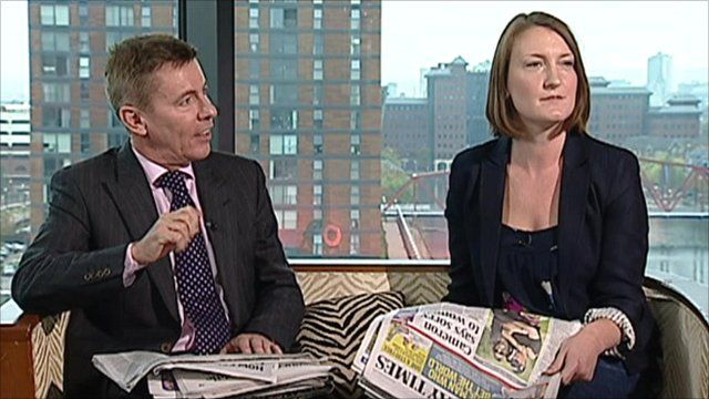 Andrew Pierce and Allegra Stratton on The Andrew Marr Show