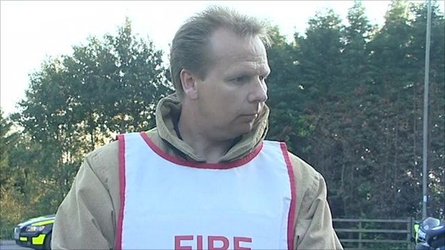 Ian Thompson, Surrey Fire and Rescue Service