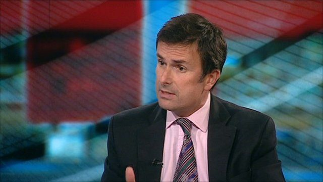 The BBC's business editor Robert Peston