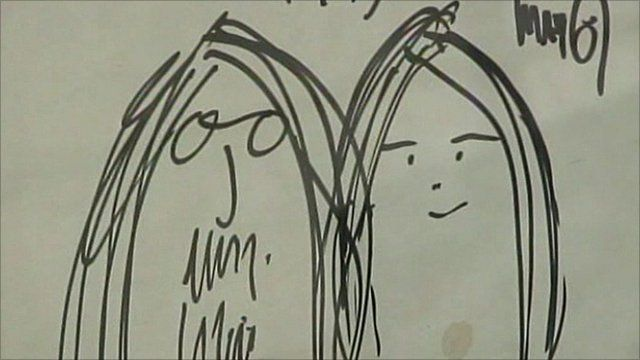 A rare drawing by Lennon