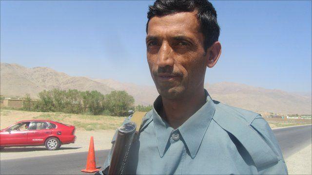 Mohammad Qahir, Afghan policeman