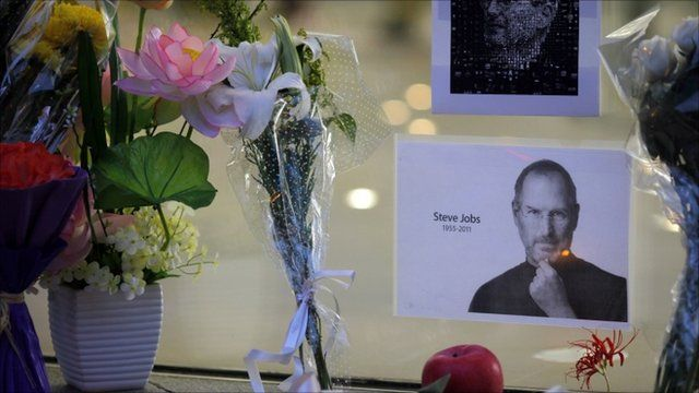 Steve jobs tribute in China