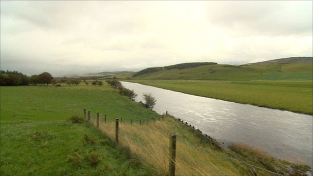 The location of a proposed quarry in the Upper Clyde Valley
