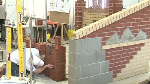 Competitive bricklaying