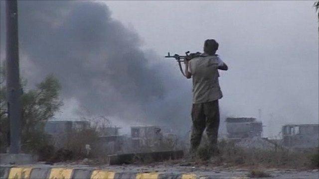 Libyan fighter