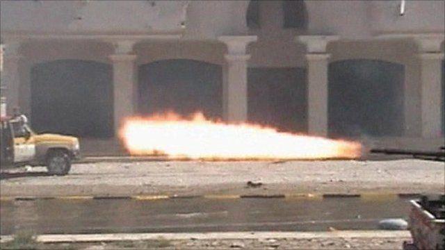 Gunfire in Sirte