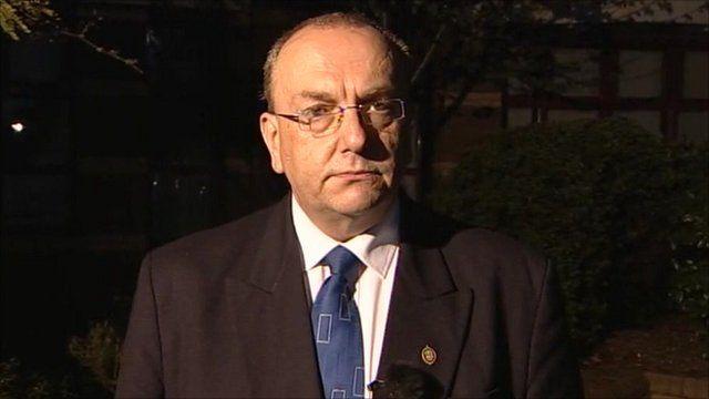 Leader of Basildon Council Tony Ball