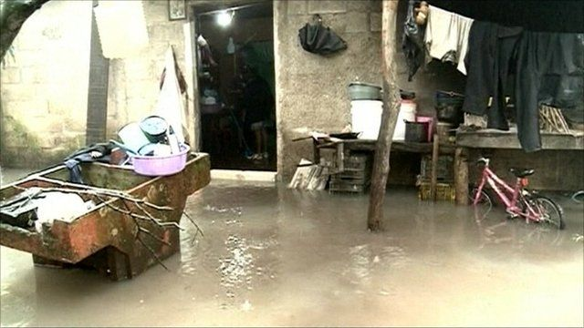 Flooding in Guatemala