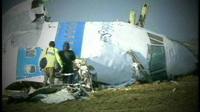 Aftermath of the Lockerbie bombing