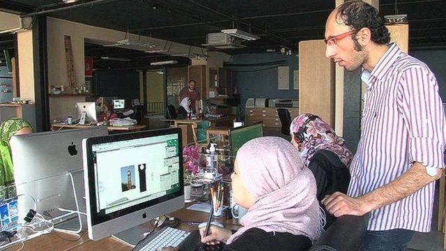 Jordanian entrepreneur