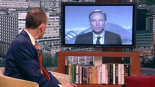 Andrew Marr interviews Shadow Defence Secretary Jim Murphy