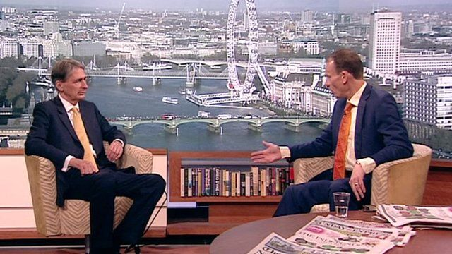 Philip Hammond on The Andrew Marr Show