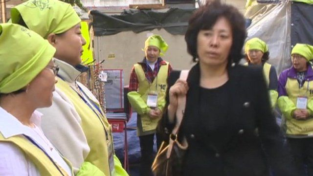 Electoral campaigning in South Korea