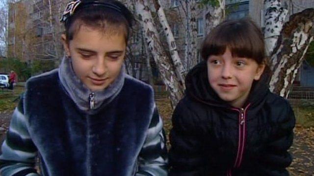 Irina and Anya