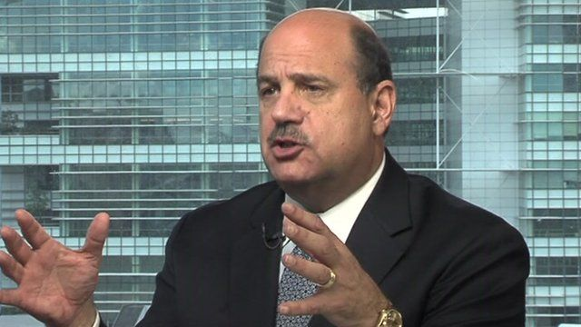 Global chief executive Barry Salzberg