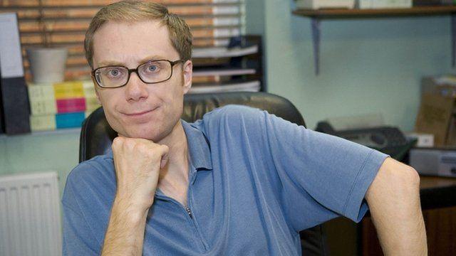 Stephen Merchant in Extras