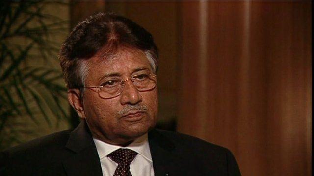 Former president of Pakistan Pervez Musharraf