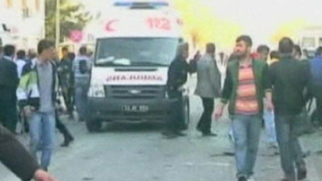 Ambulance in Bingol