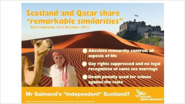 Scottish Lib Dem cartoon