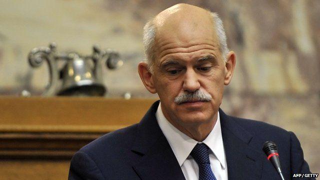 Greek Prime Minister George Papandreou