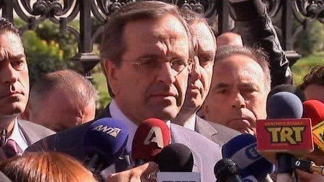 Antonis Samaras, New Democracy party