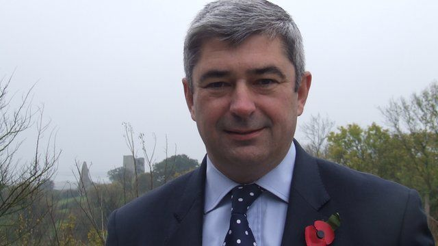 Essex County councillor Stephen Castle