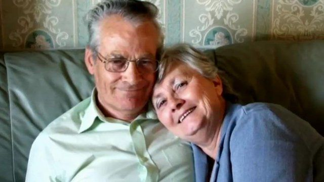 Tony and Pamela Adams from Newport