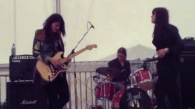 SmokeStack play Wyeside Festival