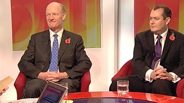 David Willetts and Michael Dugher