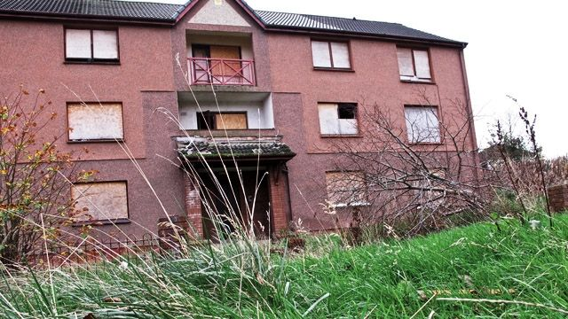 Houses in Forgewood, Motherwell