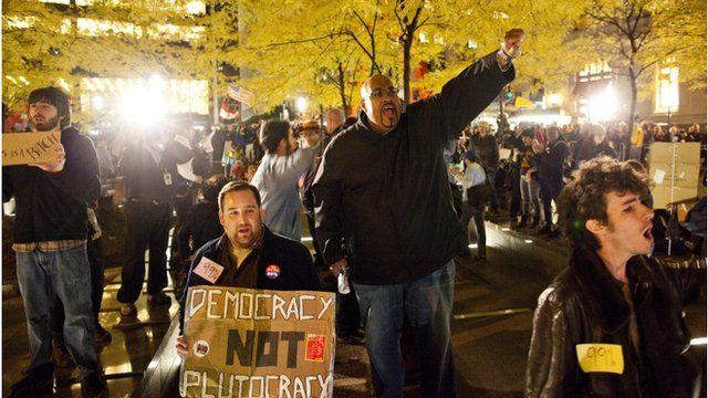 Protesters re-enter Zuccotti Park
