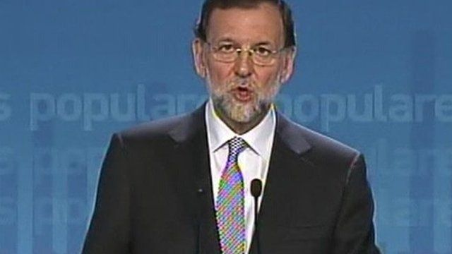 Mariano Rajoy, leader of Spain's Popular Party