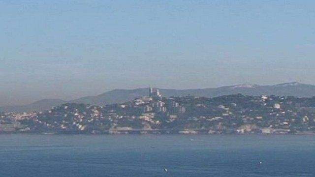 The Mediterranean coast off Marseilles and the Calanques