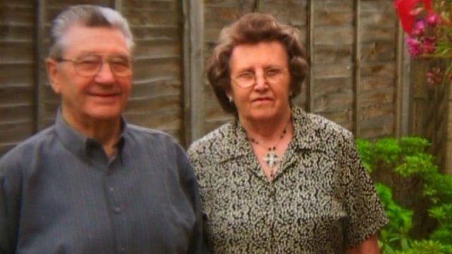 Bob and Elsie Crook