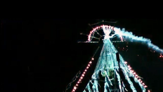 Preview footage of Edinburgh's winter festival opening display
