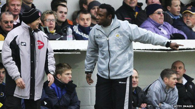 Former Torquay manager Leroy Rosenior during a 2006 game against Birmingham City
