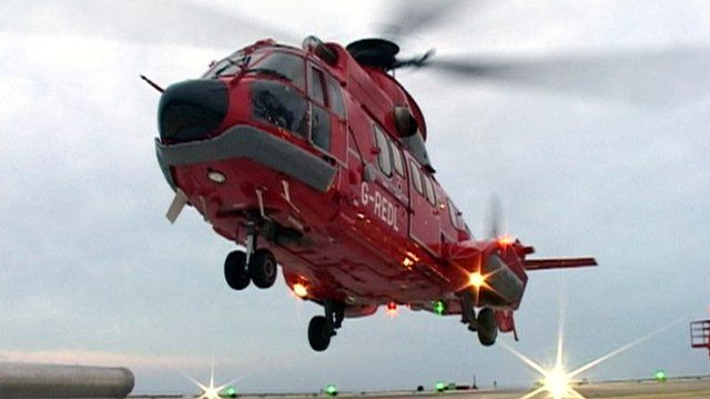 Super Puma helicopter