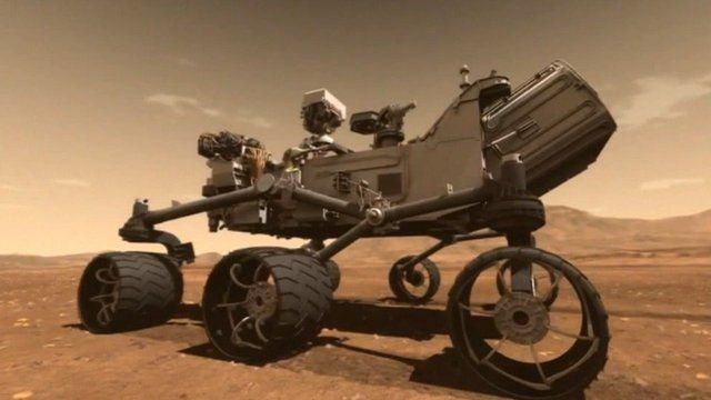 The rover that Nasa will be sending to Mars