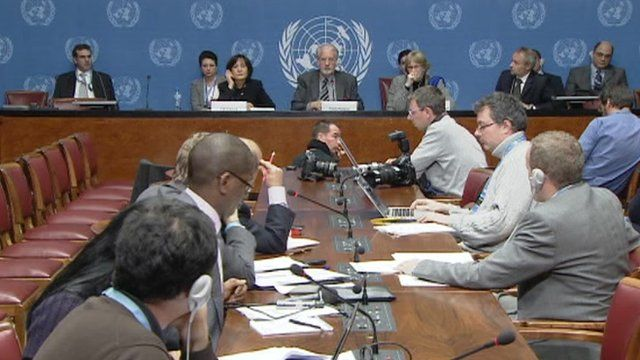 Meeting of UN
