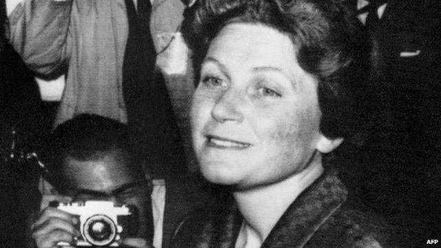 Josef Stalin's daughter Svetlana Alliluyeva, also known as Lana Peters, in 1967