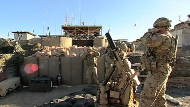 Nato troops in Afghanistan