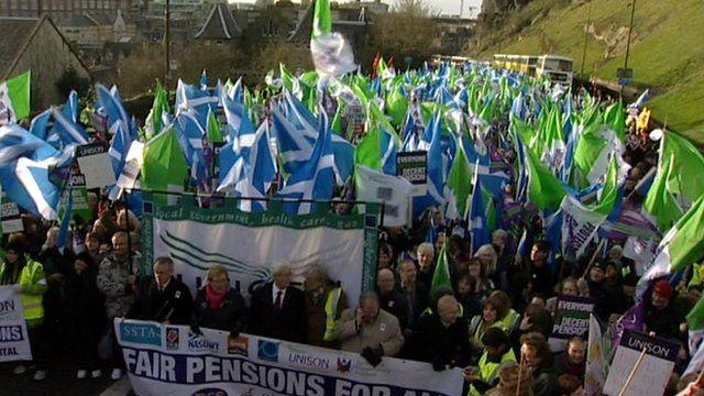 March in Edinburgh