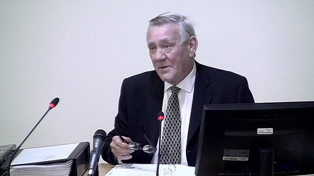 Alec Owens gives evidence to the Leveson Inquiry into media ethics.
