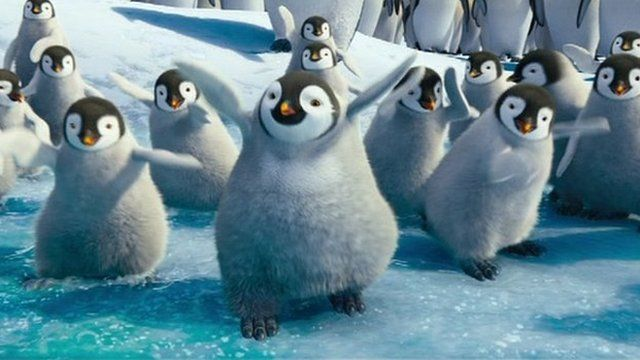 Screengrab from Happy Feet Two