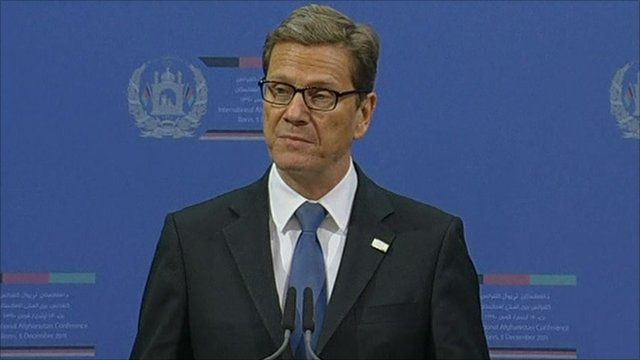 German Foreign Minister Guido Westerwelle