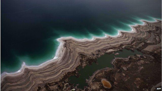 Dead Sea coast